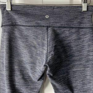 Lululemon Athletica Wunder Under Grey Leggings